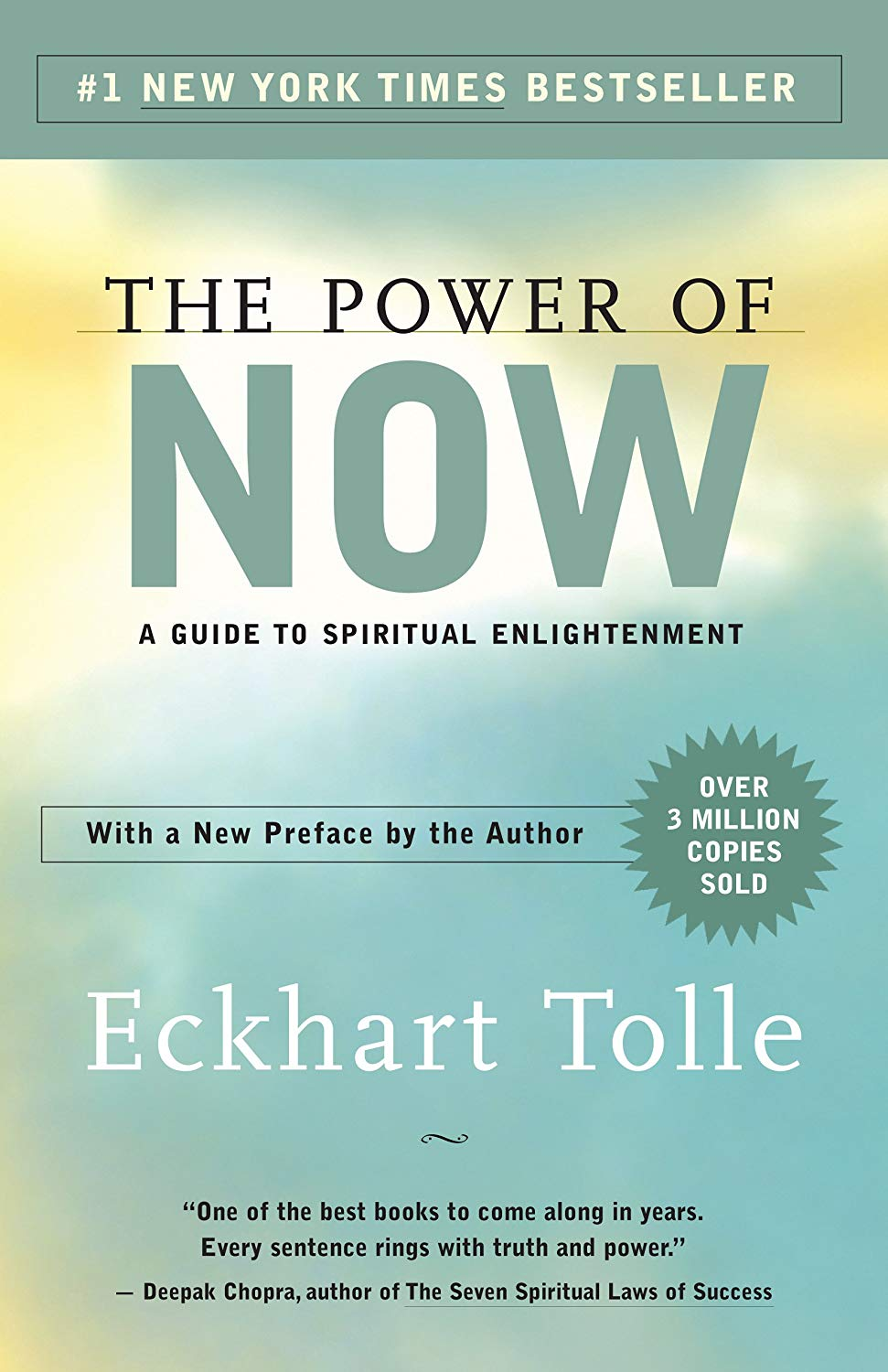 The Power of Now A Guide to Spiritual Enlightenment Book Image