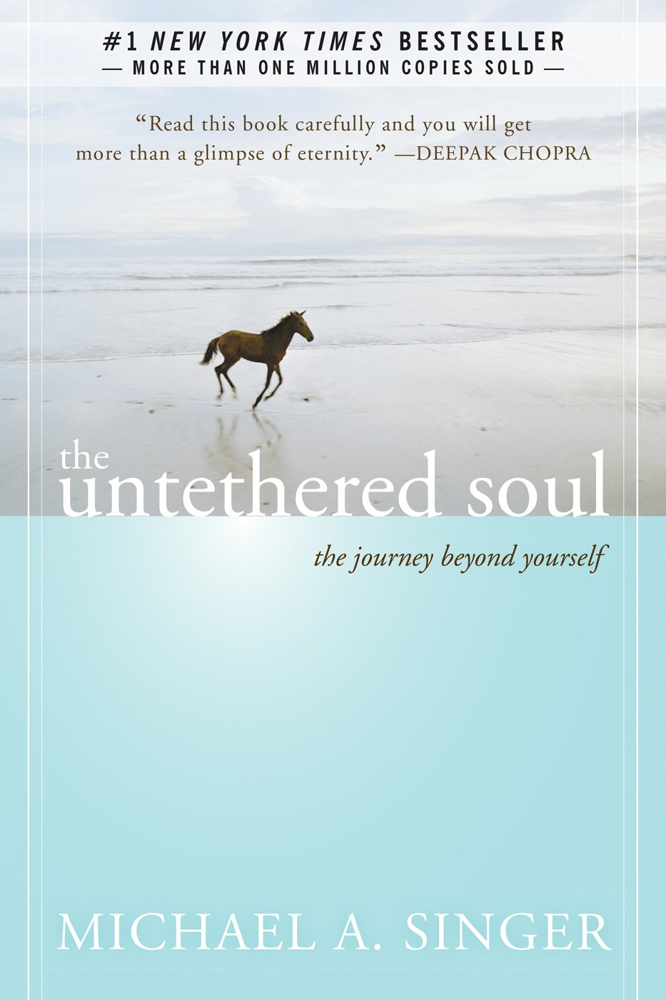 The Untethered Soul The Journey Beyond Yourself Book Image