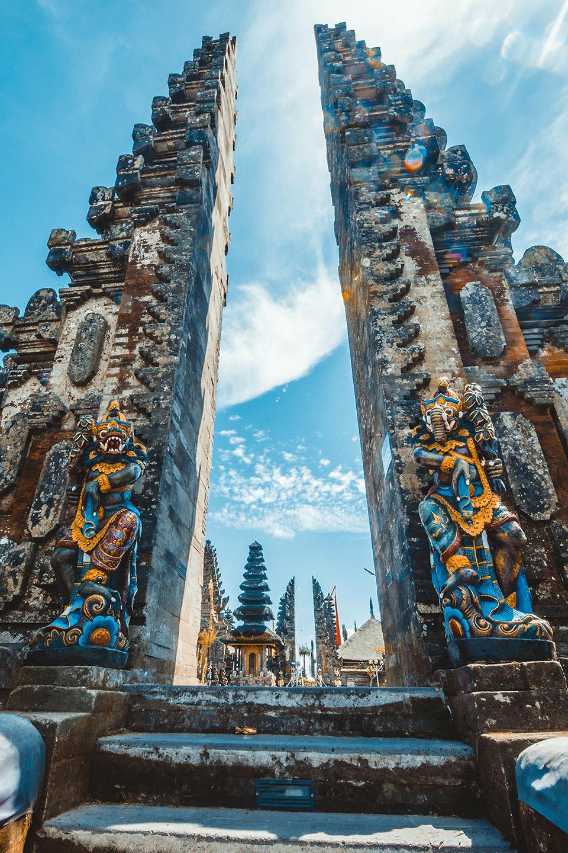 Bali Temple Image